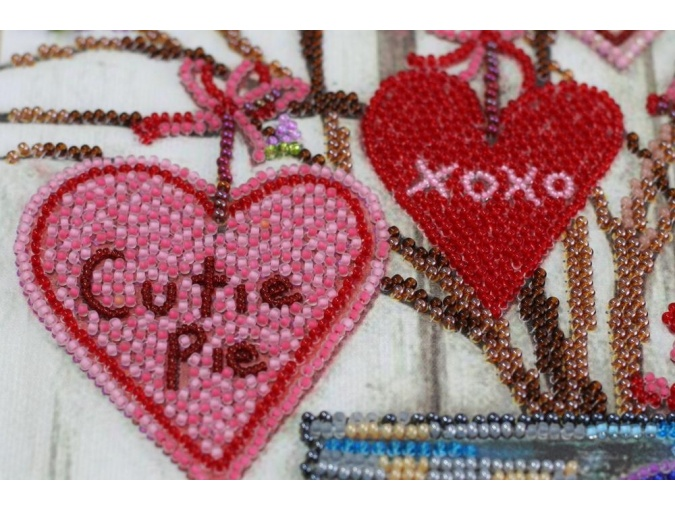 About Love Bead Embroidery Kit фото 5
