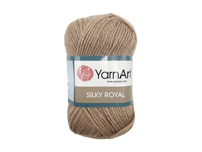 YarnArt Silky Royal 35% Silk Rayon, 65% Merino Wool, 5 Skein Value Pack, 250g фото 16