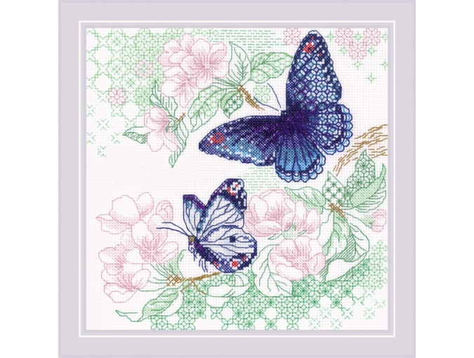 The Lightness of Spring Cross Stitch Kit фото 1