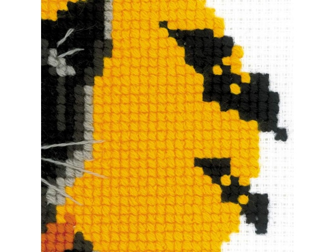 Black Cat Cross Stitch Kit фото 3
