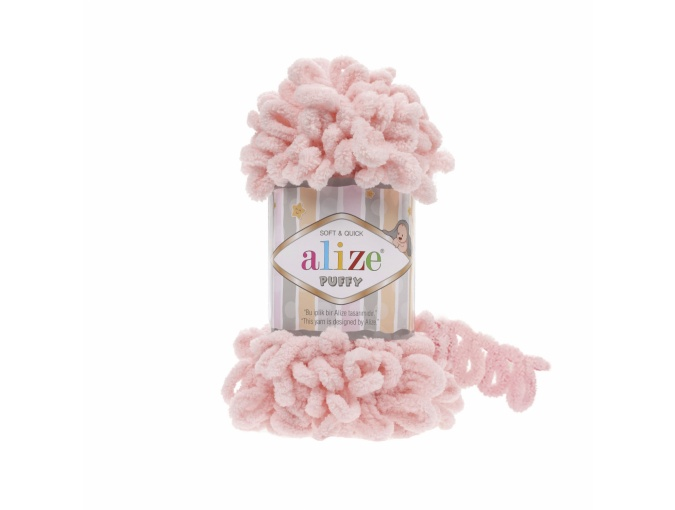 Alize Puffy, 100% Micropolyester 5 Skein Value Pack, 500g фото 37