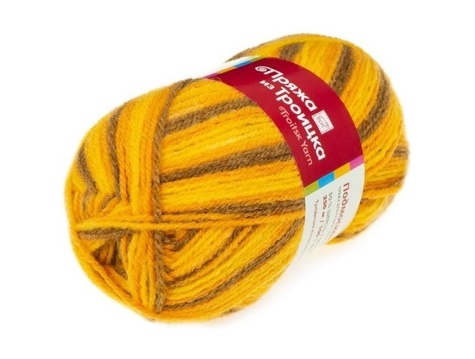 Troitsk Wool Countryside Print, 50% wool, 50% acrylic 10 Skein Value Pack, 1000g фото 17
