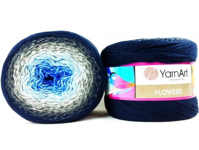YarnArt Flowers, 55% Cotton, 45% Acrylic, 2 Skein Value Pack, 500g фото 48