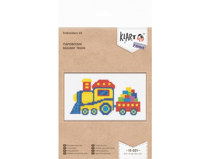 Railway Train Cross Stitch Kit фото 2