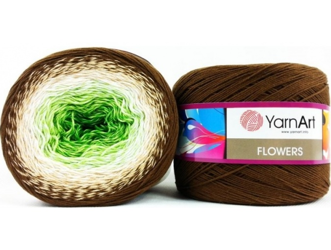YarnArt Flowers, 55% Cotton, 45% Acrylic, 2 Skein Value Pack, 500g фото 43