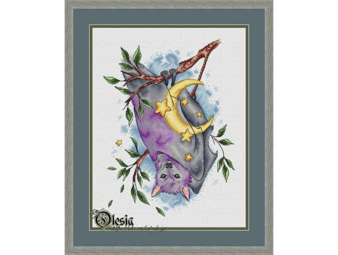 Keeper of the Moon Cross Stitch Pattern фото 1
