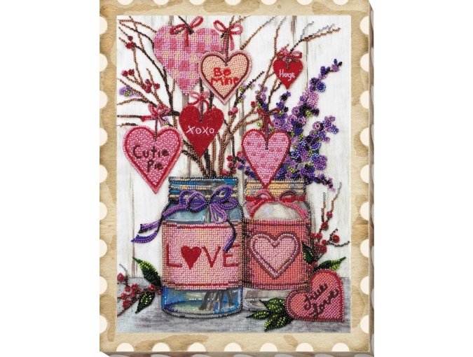 About Love Bead Embroidery Kit фото 2