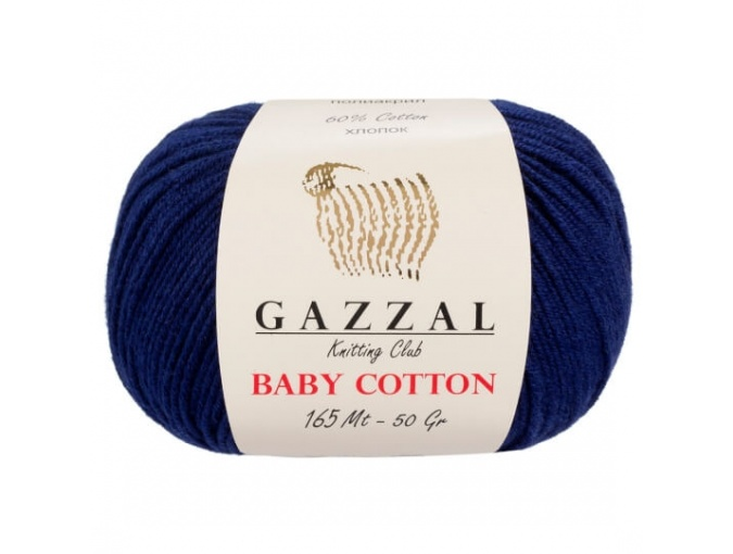 Gazzal Baby Cotton, 60% Cotton, 40% Acrylic 10 Skein Value Pack, 500g фото 58