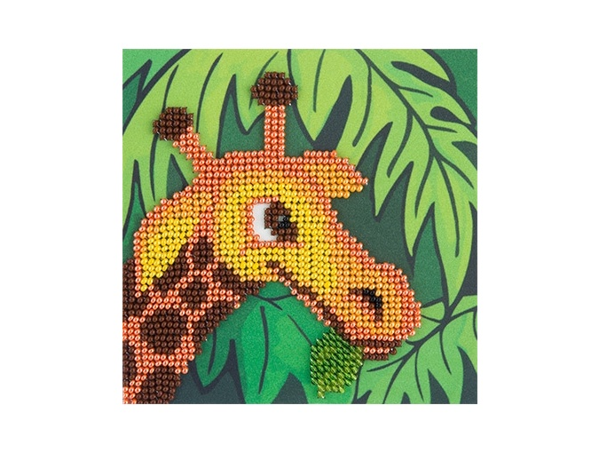 Giraffe Bead Embroidery Kit фото 1