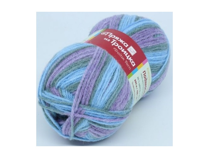 Troitsk Wool Countryside Print, 50% wool, 50% acrylic 10 Skein Value Pack, 1000g фото 33