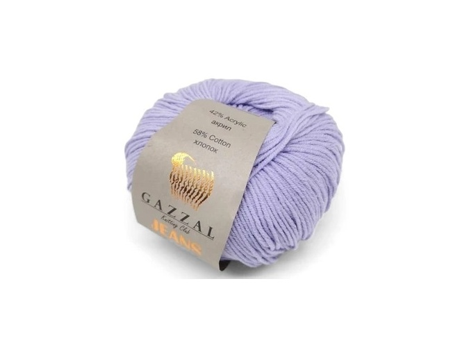 Gazzal Jeans, 58% Cotton, 42% Acrylic 10 Skein Value Pack, 500g фото 4