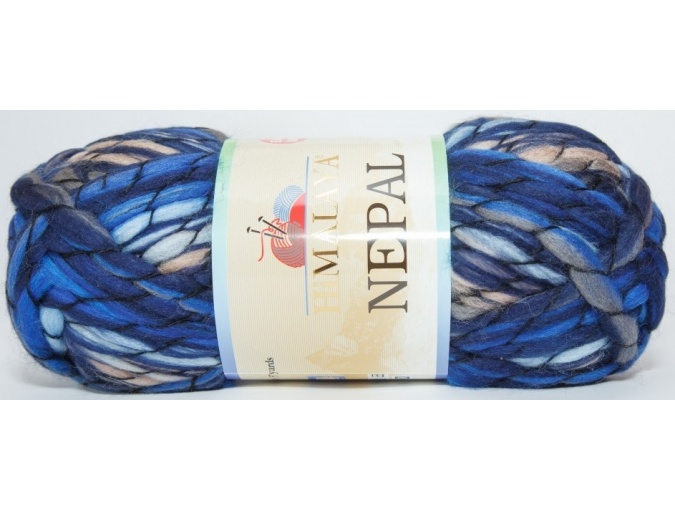 Himalaya Nepal 48% wool, 52% acrylic, 3 Skein Value Pack, 600g фото 5