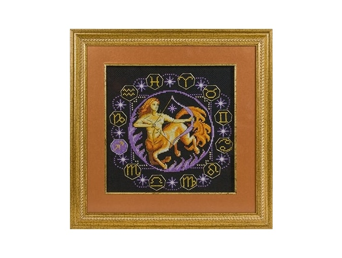 Zodiac signs. Sagittarius Cross Stitch Kit фото 2