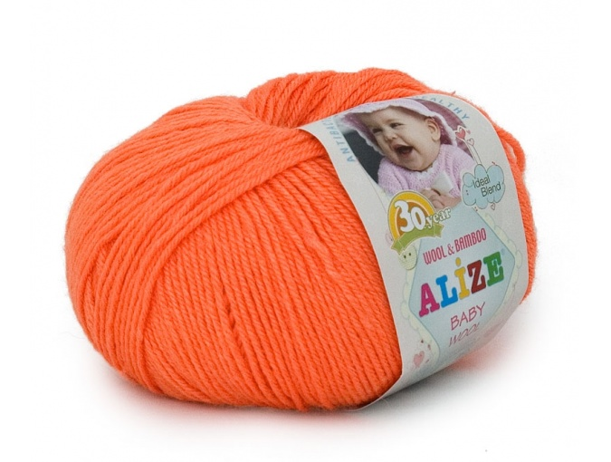 Alize Baby Wool, 40% wool, 20% bamboo, 40% acrylic 10 Skein Value Pack, 500g фото 45