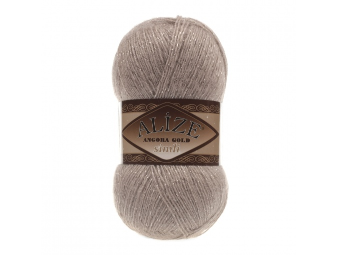 Alize Angora Gold Simli, 5% Lurex, 10% Mohair, 10% Wool, 75% Acrylic, 5 Skein Value Pack, 500g фото 47
