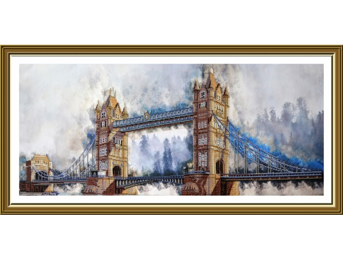 Legendary London Bridge Bead Embroidery Kit фото 1