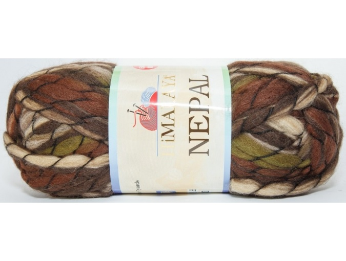 Himalaya Nepal 48% wool, 52% acrylic, 3 Skein Value Pack, 600g фото 8
