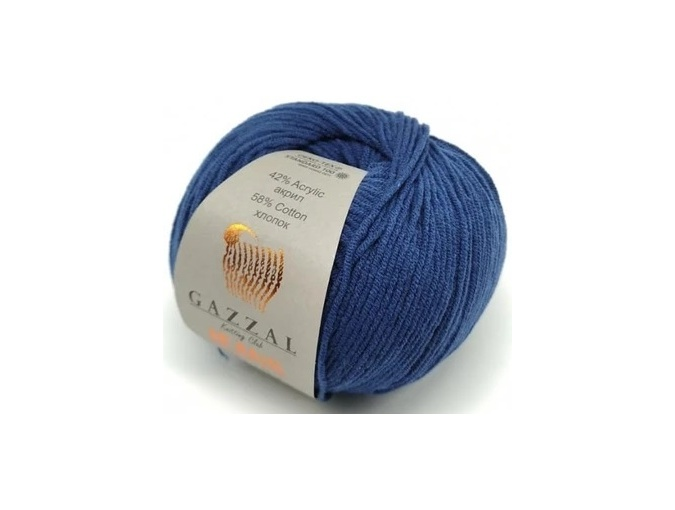 Gazzal Jeans, 58% Cotton, 42% Acrylic 10 Skein Value Pack, 500g фото 35