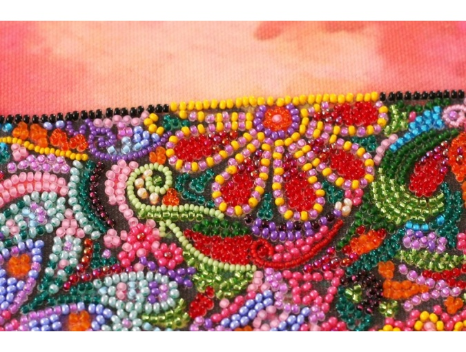 Walking in the Sunset Bead Embroidery Kit фото 6