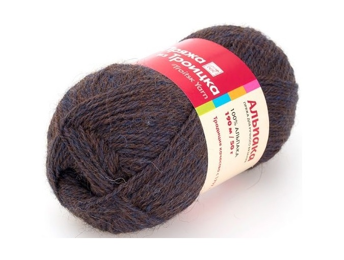 Troitsk Wool Alpaca, 100% alpaca 10 Skein Value Pack, 500g фото 6