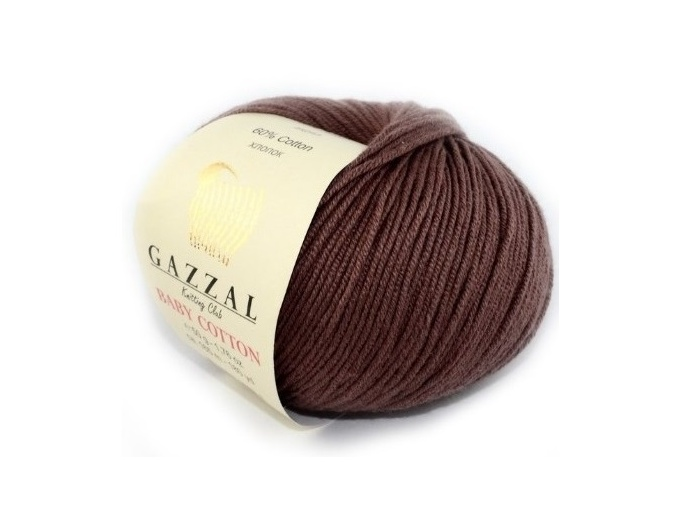 Gazzal Baby Cotton, 60% Cotton, 40% Acrylic 10 Skein Value Pack, 500g фото 92
