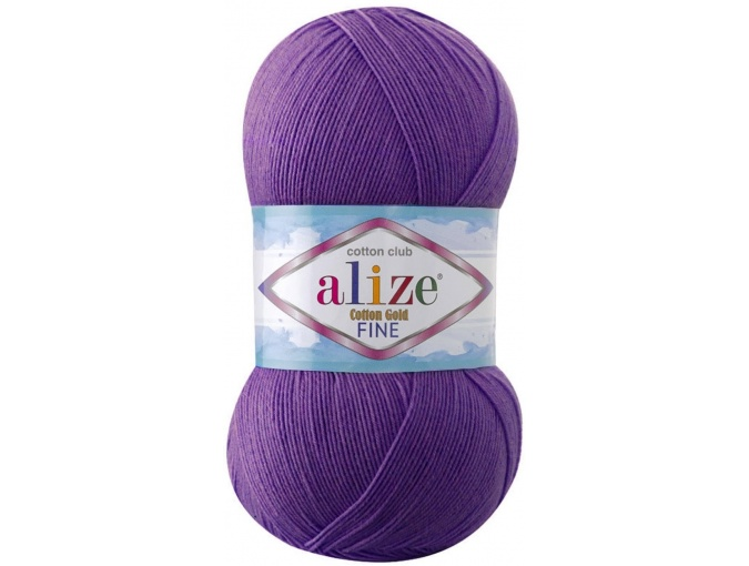 Alize Cotton Gold Fine 55% cotton, 45% acrylic 5 Skein Value Pack, 500g фото 5