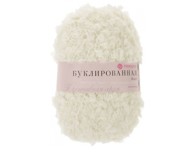 Pekhorka Boucle, 30% Mohair, 20% Wool, 50% Acrylic, 5 Skein Value Pack, 1000g фото 2