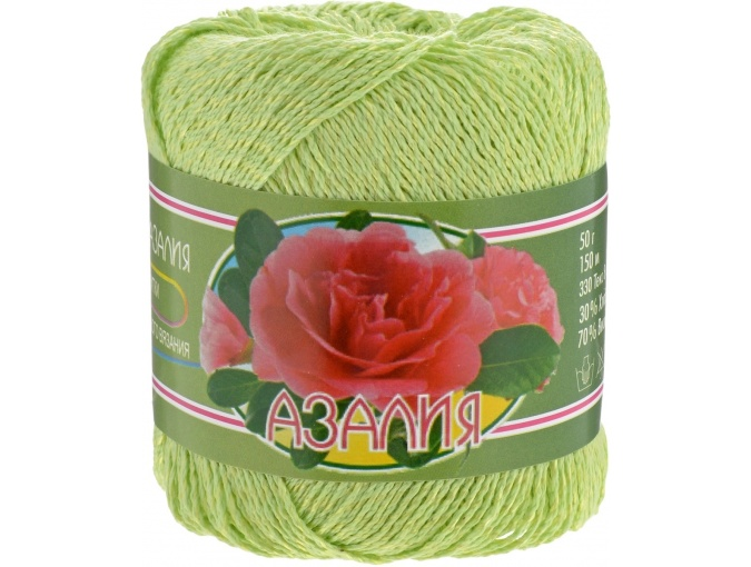 Kirova Fibers Azalea, 30% cotton, 70% viscose 4 Skein Value Pack, 200g фото 18