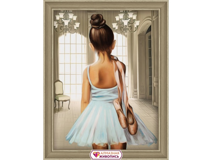 Young Ballerina Diamond Painting Kit фото 1