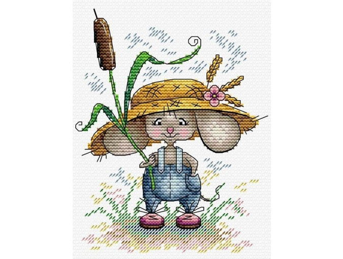Mouse Worker Cross Stitch Kit фото 1