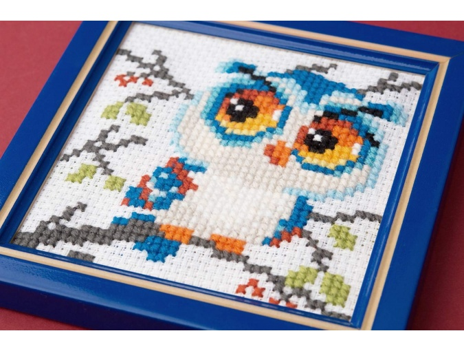 Scops Owl Cross Stitch Kit фото 5