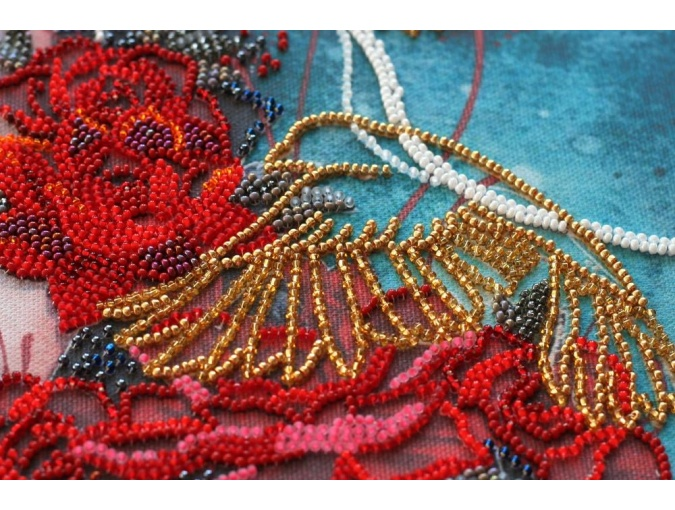 On the Way to the Dream Bead Embroidery Kit фото 6