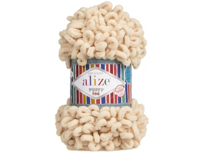 Alize Puffy Fine, 100% Micropolyester 5 Skein Value Pack, 500g фото 21