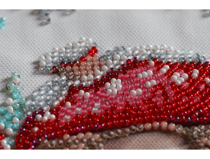 Winter Magic Bead Embroidery Kit фото 3