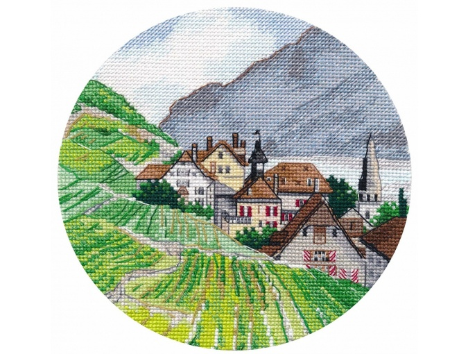 Miniature. Alps Cross Stitch Kit фото 1