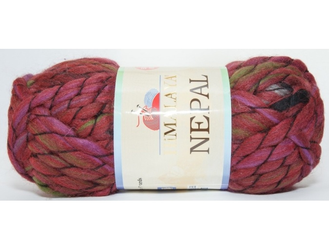 Himalaya Nepal 48% wool, 52% acrylic, 3 Skein Value Pack, 600g фото 7