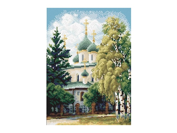 Church Cross Stitch Kit фото 1