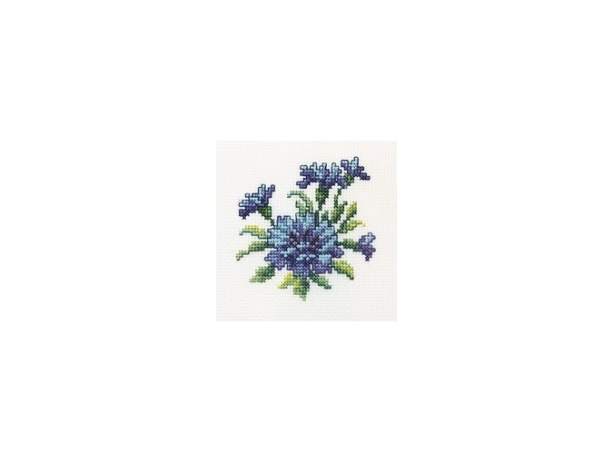 Cornflower Cross Stitch Kit фото 1