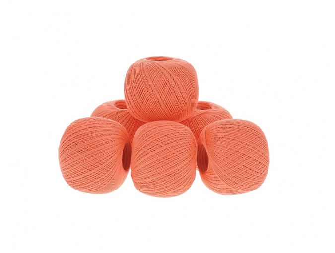 Kirova Fibers Rose, 100% cotton, 6 Skein Value Pack, 300g фото 1