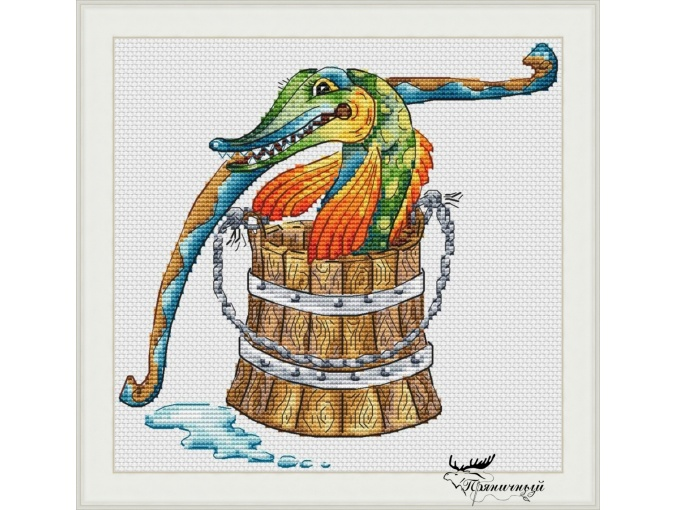 Upon Pike's Will Cross Stitch Pattern фото 1