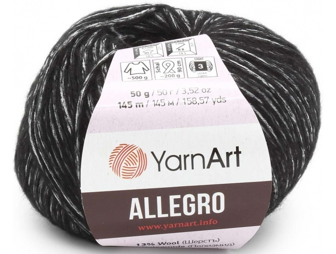 YarnArt Allegro 13% Wool, 41% Polyamid, 46% Acrylic, 10 Skein Value Pack, 500g фото 14