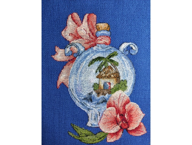 Paradise on Earth Cross Stitch Pattern фото 2