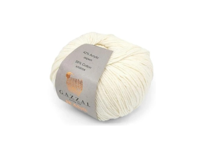 Gazzal Jeans, 58% Cotton, 42% Acrylic 10 Skein Value Pack, 500g фото 21