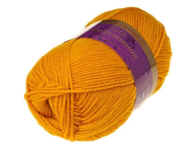 Troitsk Wool Countryside Gold, 50% wool, 50% acrylic 5 Skein Value Pack, 500g фото 11