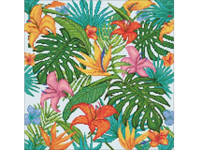 Tropics Diamond Painting Kit фото 2