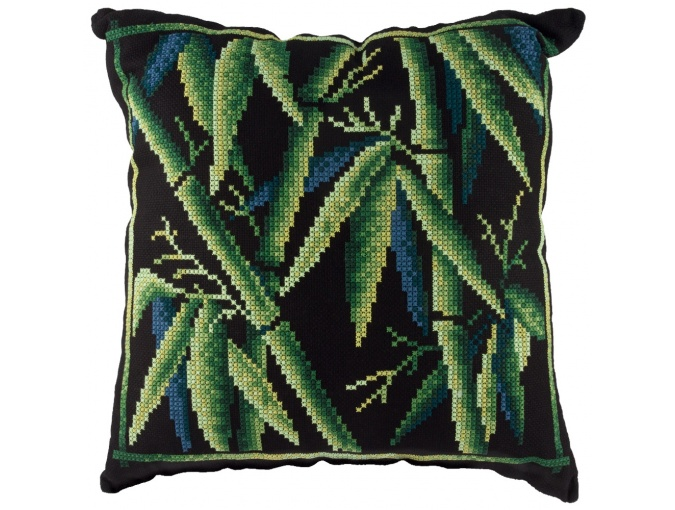 Bamboo Cushion Front Cross Stitch Kit фото 1