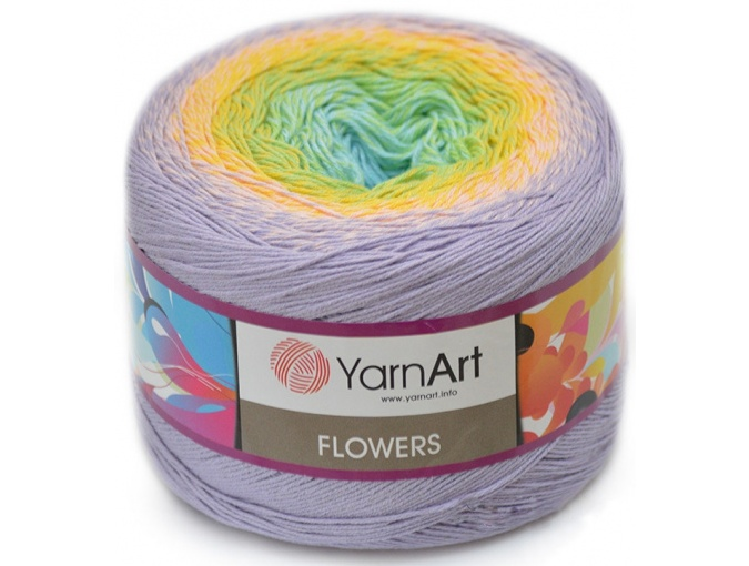 YarnArt Flowers, 55% Cotton, 45% Acrylic, 2 Skein Value Pack, 500g фото 67