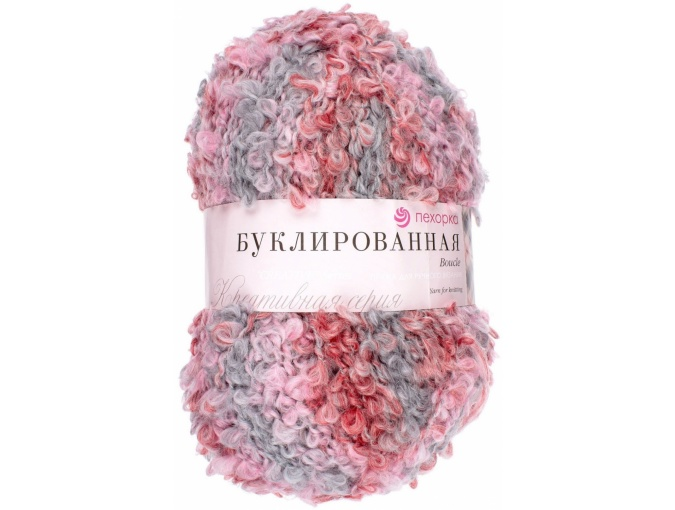 Pekhorka Boucle, 30% Mohair, 20% Wool, 50% Acrylic, 5 Skein Value Pack, 1000g фото 29