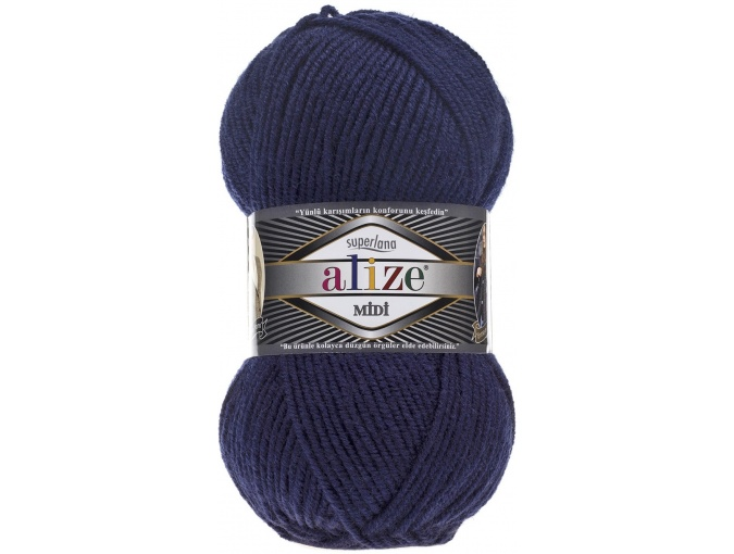 Alize Superlana Midi 25% Wool, 75% Acrylic, 5 Skein Value Pack, 500g фото 11