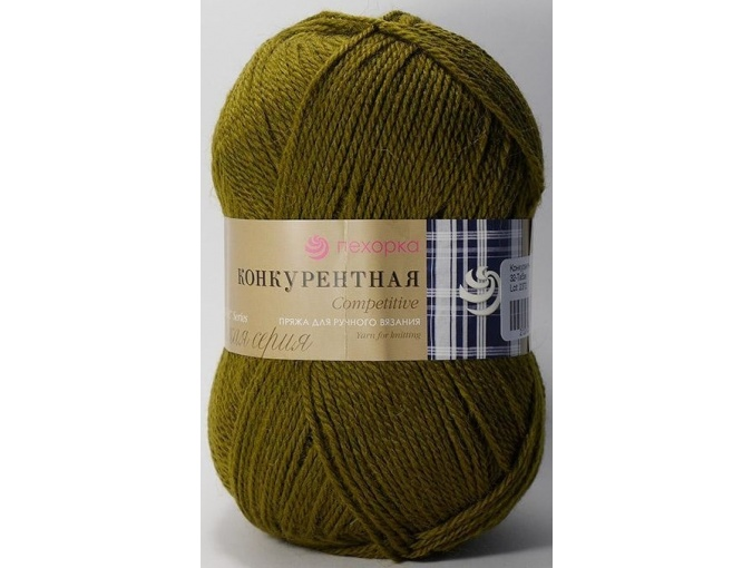 Pekhorka Competitive, 50% Wool, 50% Acrylic 10 Skein Value Pack, 1000g фото 8